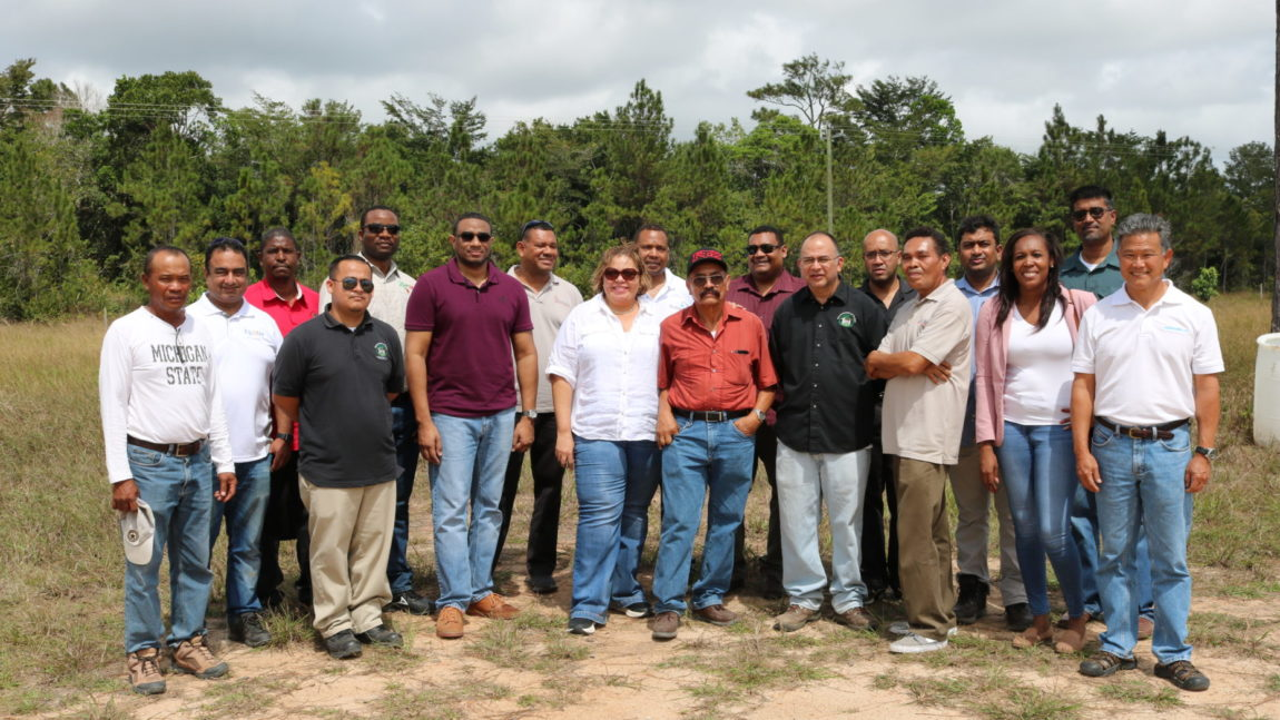 Minister Panton tours agro-processing companies in Stann Creek